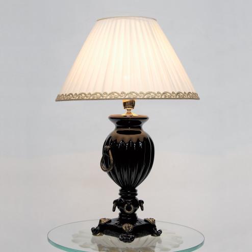 """Pandora"" lampara de sobremesa de Murano"