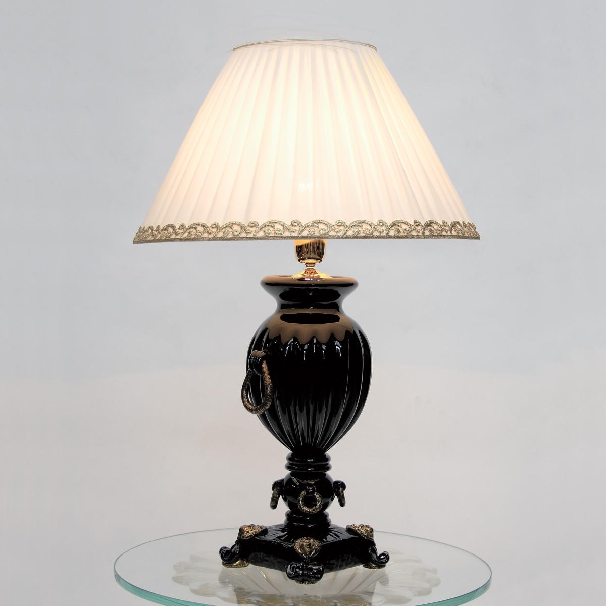 """""""Pandora"""" lampe de table en verre de Murano"""