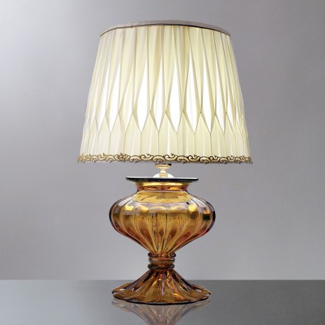 """Chloe"" Murano glass table lamp"