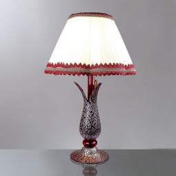 """Magma"" Murano glass table lamp"