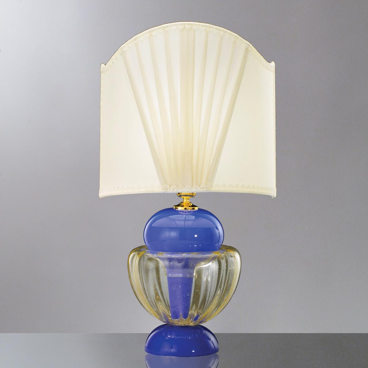"""Cleide"" lampara de sobremesa de cristal de Murano"
