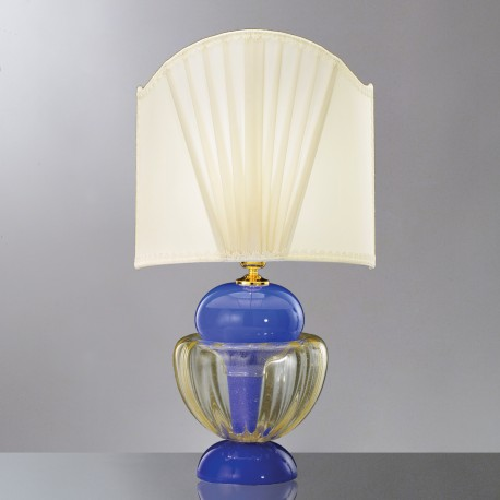 """Cleide"" Murano glass table lamp"