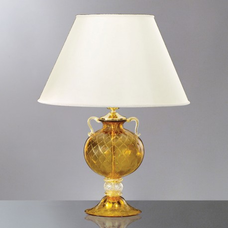 """Galatea"" Murano glass table lamp"
