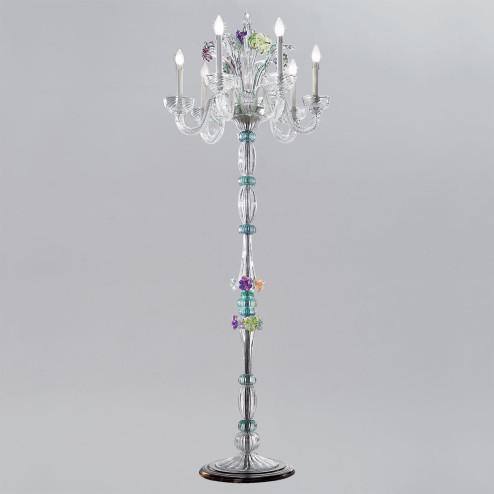 """""""Teodora"""" lampara de pie de Murano"""