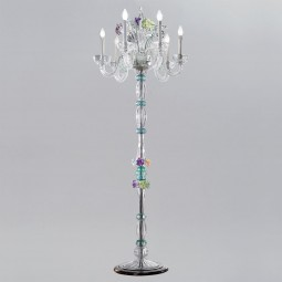 """Teodora"" Murano glass floor lamp"