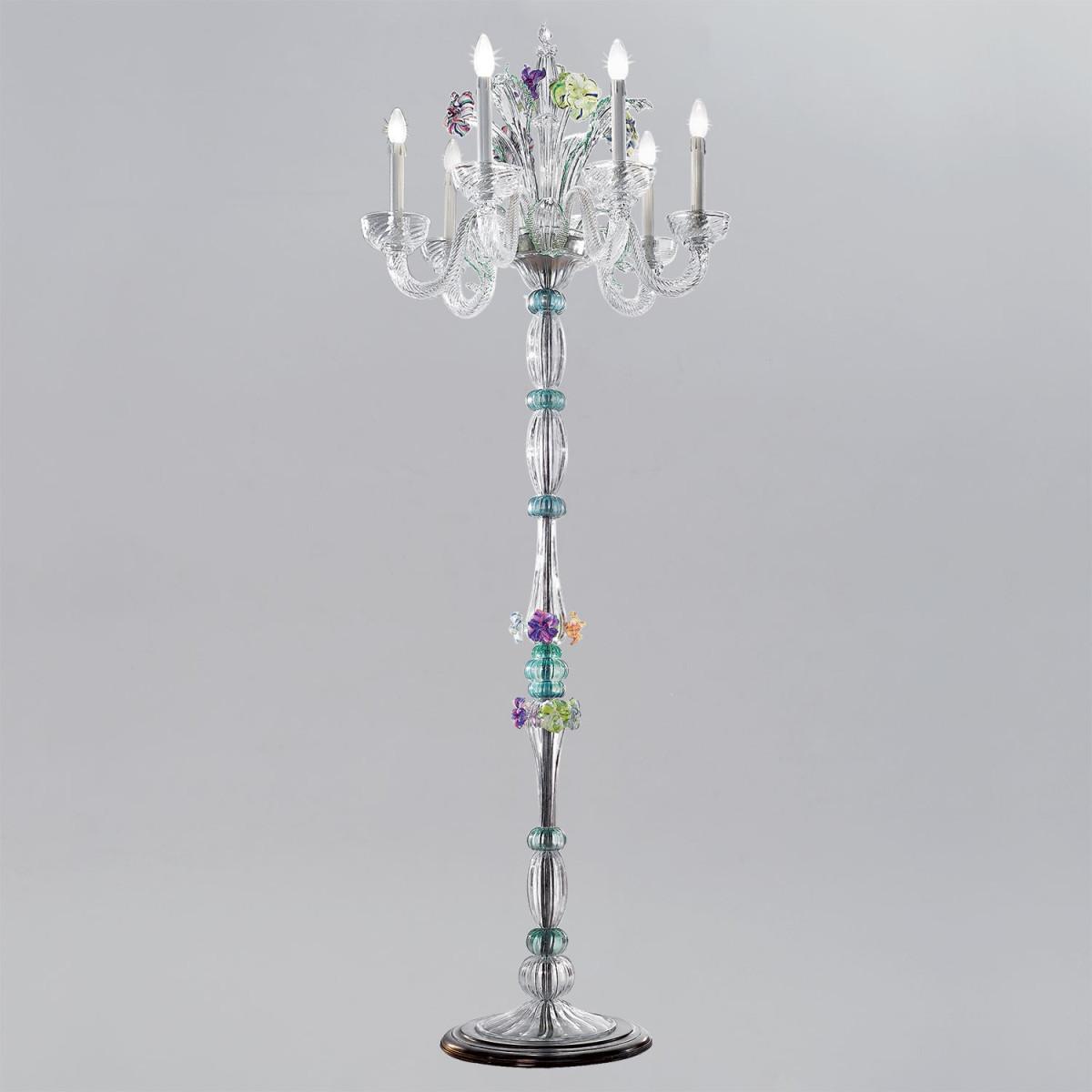 """""""Teodora"""" lampara de sobremesa de Murano"""