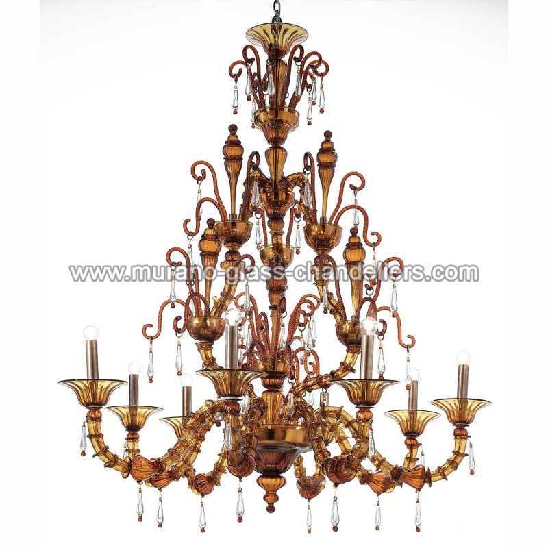 odisha lustre en verre de murano murano glass chandeliers. Black Bedroom Furniture Sets. Home Design Ideas