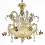 """San Clemente"" Murano glass ceiling light"