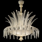"""Agata"" Murano glass ceiling light"