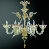 """Casanova"" Murano glass chandelier"