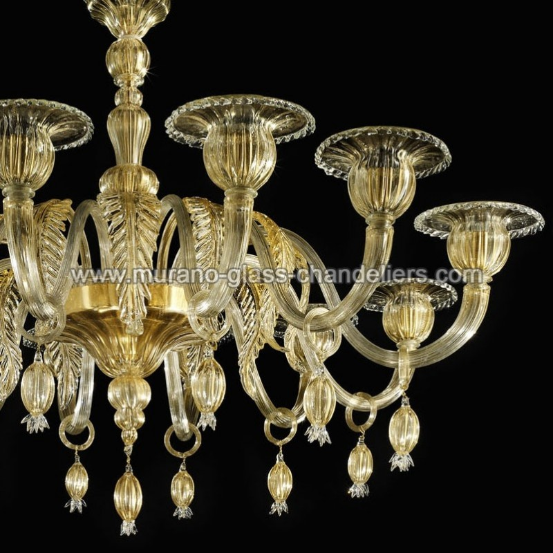 orfeo lustre en verre de murano murano glass chandeliers. Black Bedroom Furniture Sets. Home Design Ideas