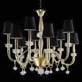"""Sibilla"" Murano glass chandelier"