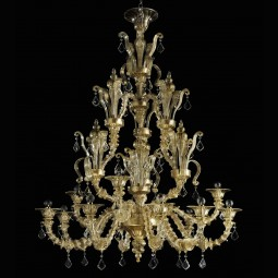 """Pallante"" Murano glass chandelier"