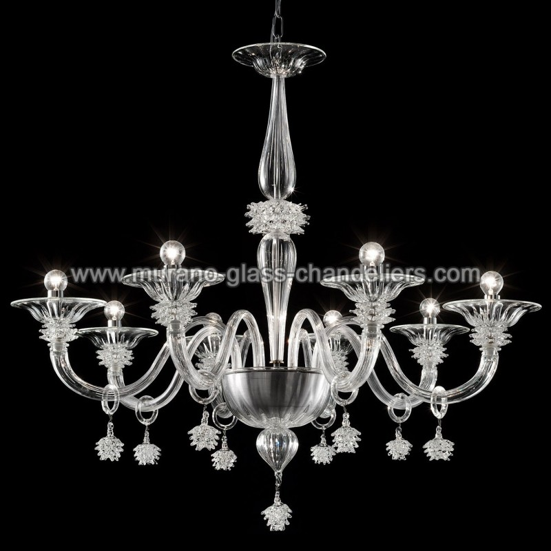 magellano lustre en verre de murano murano glass chandeliers. Black Bedroom Furniture Sets. Home Design Ideas