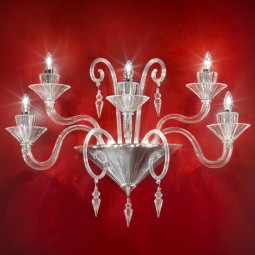 """Dioniso"" Murano glass sconce"