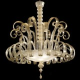 """Silvia"" Murano glass ceiling light"