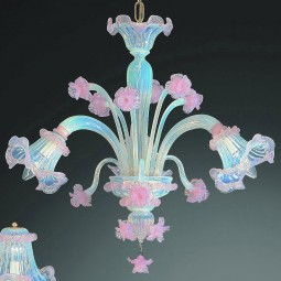 """Minerva"" Murano glass chandelier"