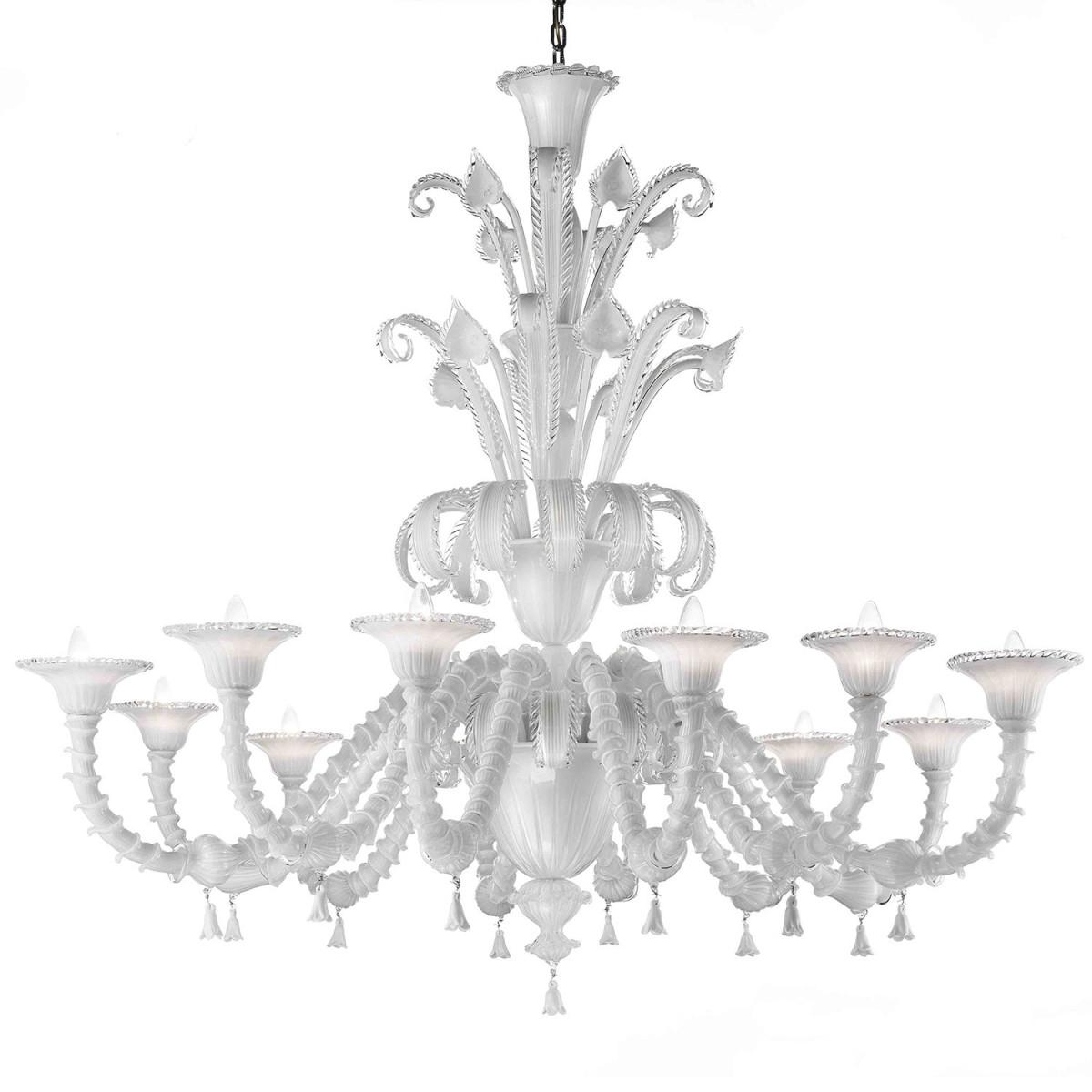 teseo lustre en verre de murano murano glass chandeliers. Black Bedroom Furniture Sets. Home Design Ideas