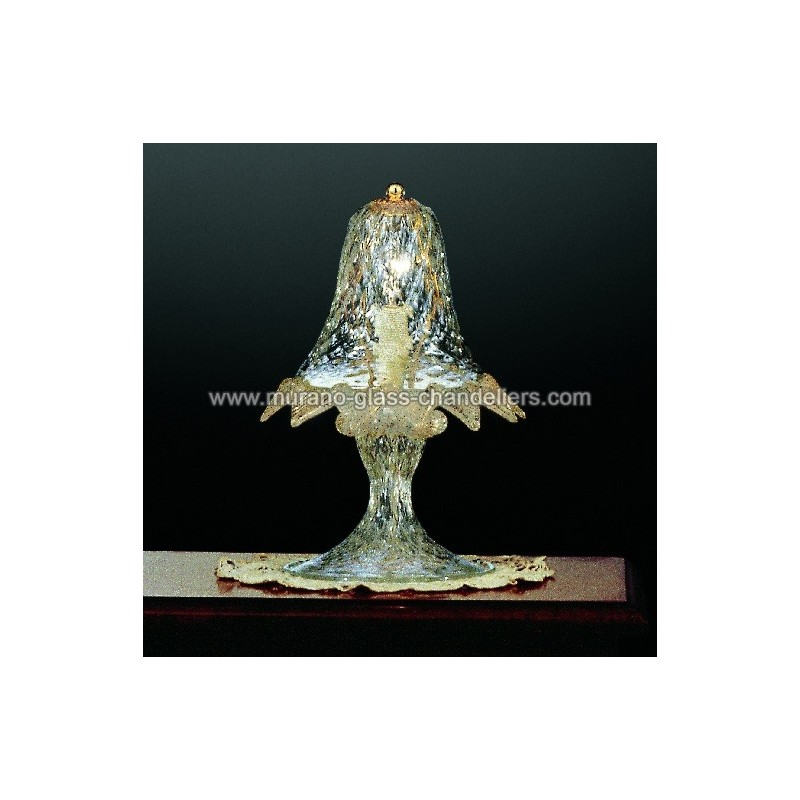 casanova lampe de chevet en verre de murano murano. Black Bedroom Furniture Sets. Home Design Ideas