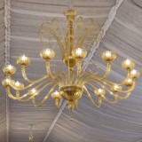 """Sinfonia"" Murano glass chandelier"