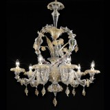 """Prospero"" Murano glass chandelier"