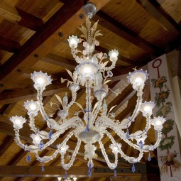 """San Francesco"" Murano glass chandelier"