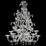 """Ginevra"" Murano glass chandelier"