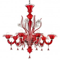 """Santa Lucia"" Murano glass chandelier"