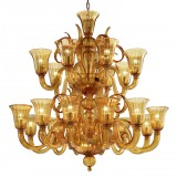 """Diogene"" Murano glass chandelier"