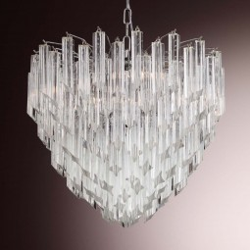 """Nelly"" lustre en cristal de Murano"