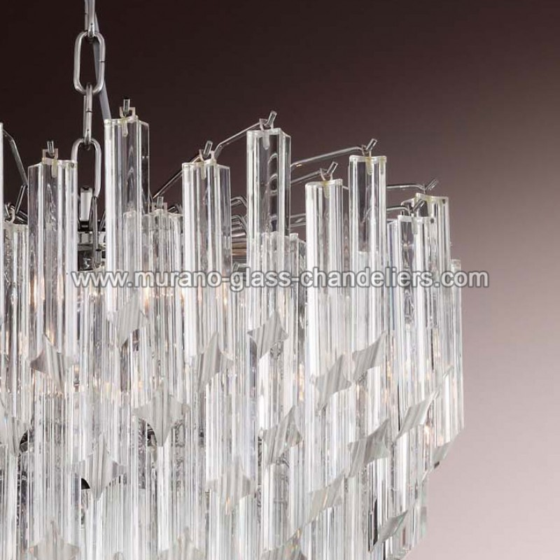nelly lustre en cristal de murano murano glass chandeliers. Black Bedroom Furniture Sets. Home Design Ideas