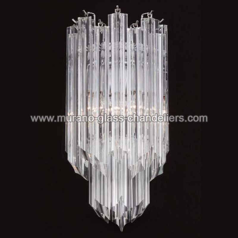 aretha applique murale de murano murano glass chandeliers. Black Bedroom Furniture Sets. Home Design Ideas
