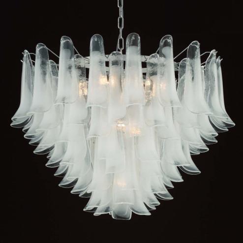 """""""Calypso"""" lustre en cristal de Murano"""