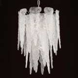 """Stalattite"" Murano glass chandelier - 4 lights"