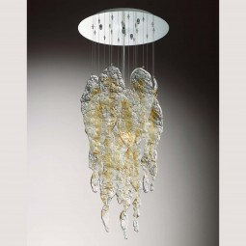"""""""Aurel"""" lampara de cristal de Murano"""