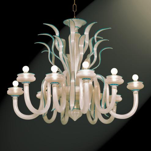 """""""Gerda"""" lampara de araña de Murano"""