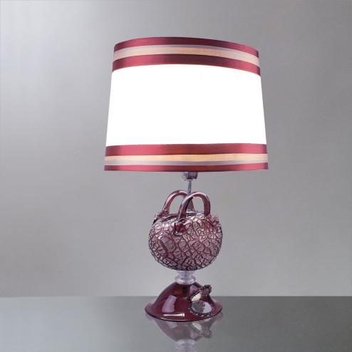 """Nefeli"" lampara de sobremesa de cristal de Murano"