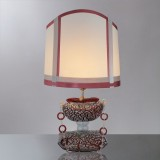 """Ianira"" Murano glass table lamp"