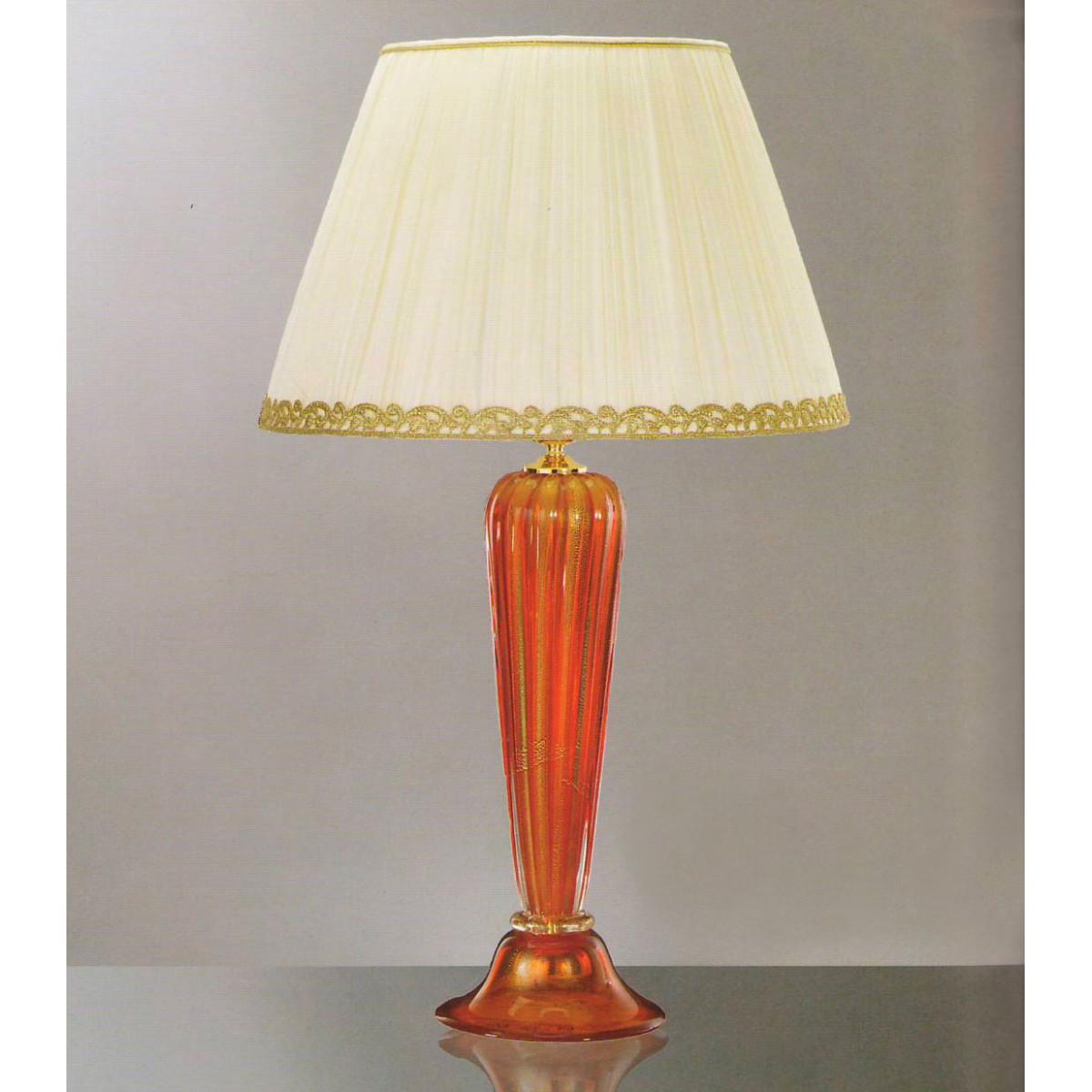 """Ambrosia"" lampara de sobremesa de cristal de Murano"