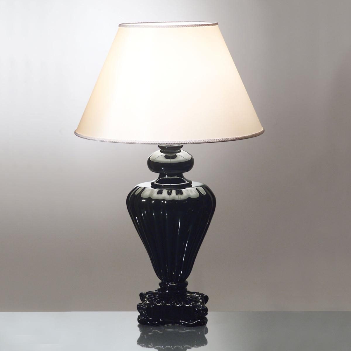 """Teti"" lampara de sobremesa de cristal de Murano"