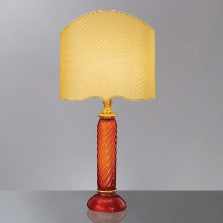 """Eunice"" Murano glass table lamp"