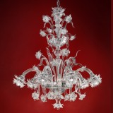 """Brina"" Murano glass chandelier"