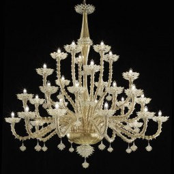 """Scintilla"" Murano glass chandelier"