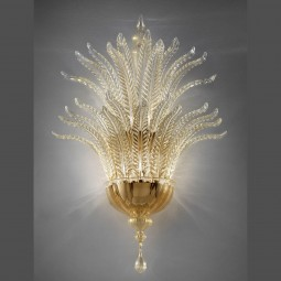"""Fantastico"" Murano glass sconce"