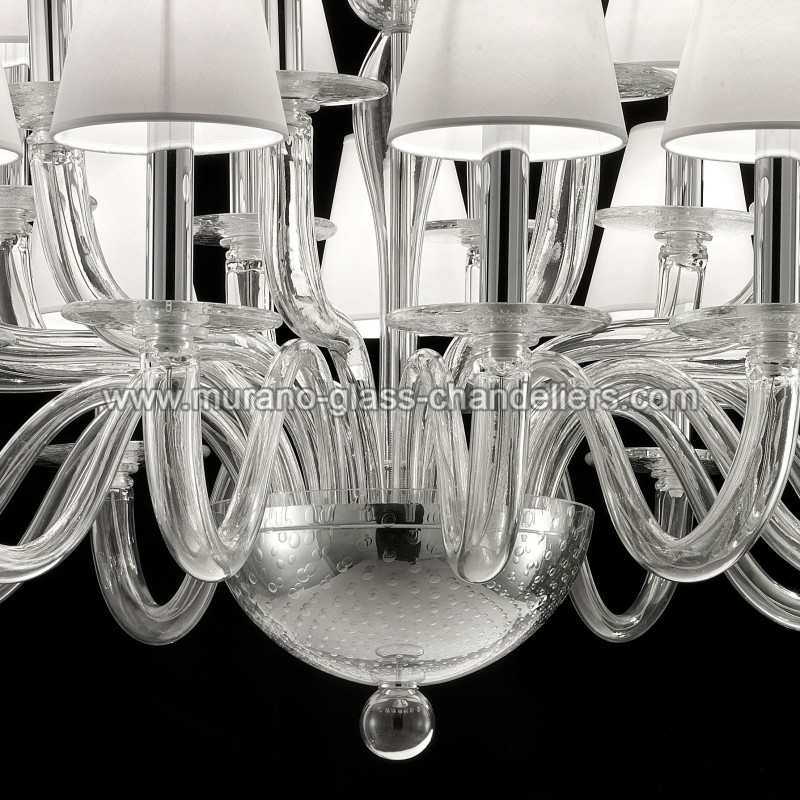 vasco lustre en verre de murano murano glass chandeliers. Black Bedroom Furniture Sets. Home Design Ideas