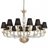 """Caligola"" Murano glass chandelier"