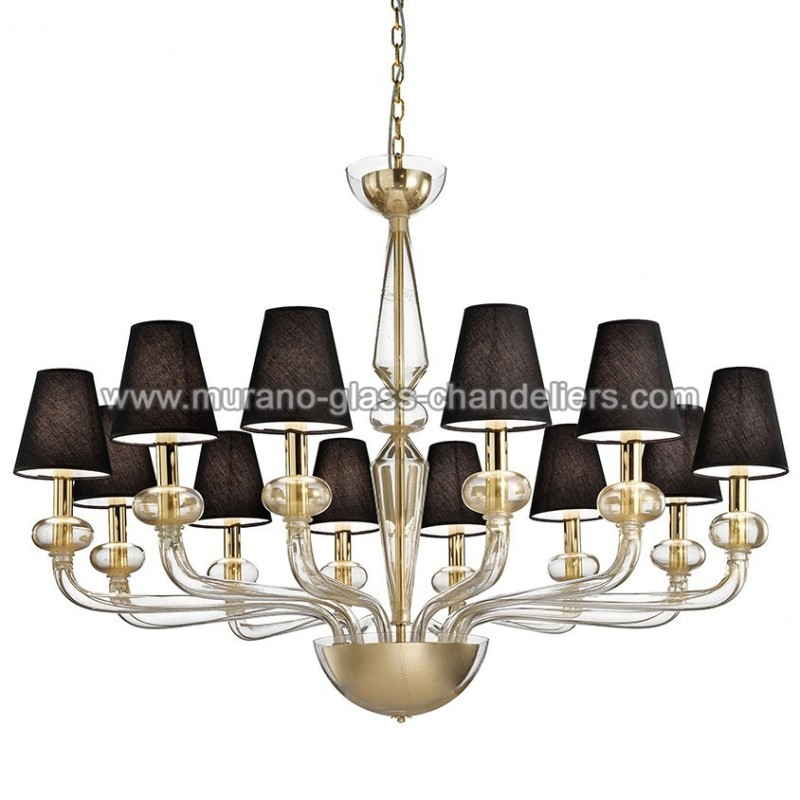 caligola lustre en verre de murano murano glass chandeliers. Black Bedroom Furniture Sets. Home Design Ideas