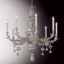 """Ragno"" Murano glass chandelier"