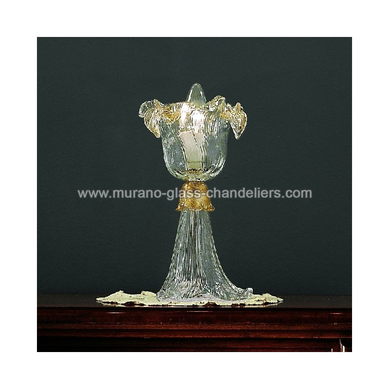 flora murano nachttischleuchte murano glass chandeliers. Black Bedroom Furniture Sets. Home Design Ideas