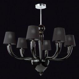 """Onice"" Murano glass chandelier"